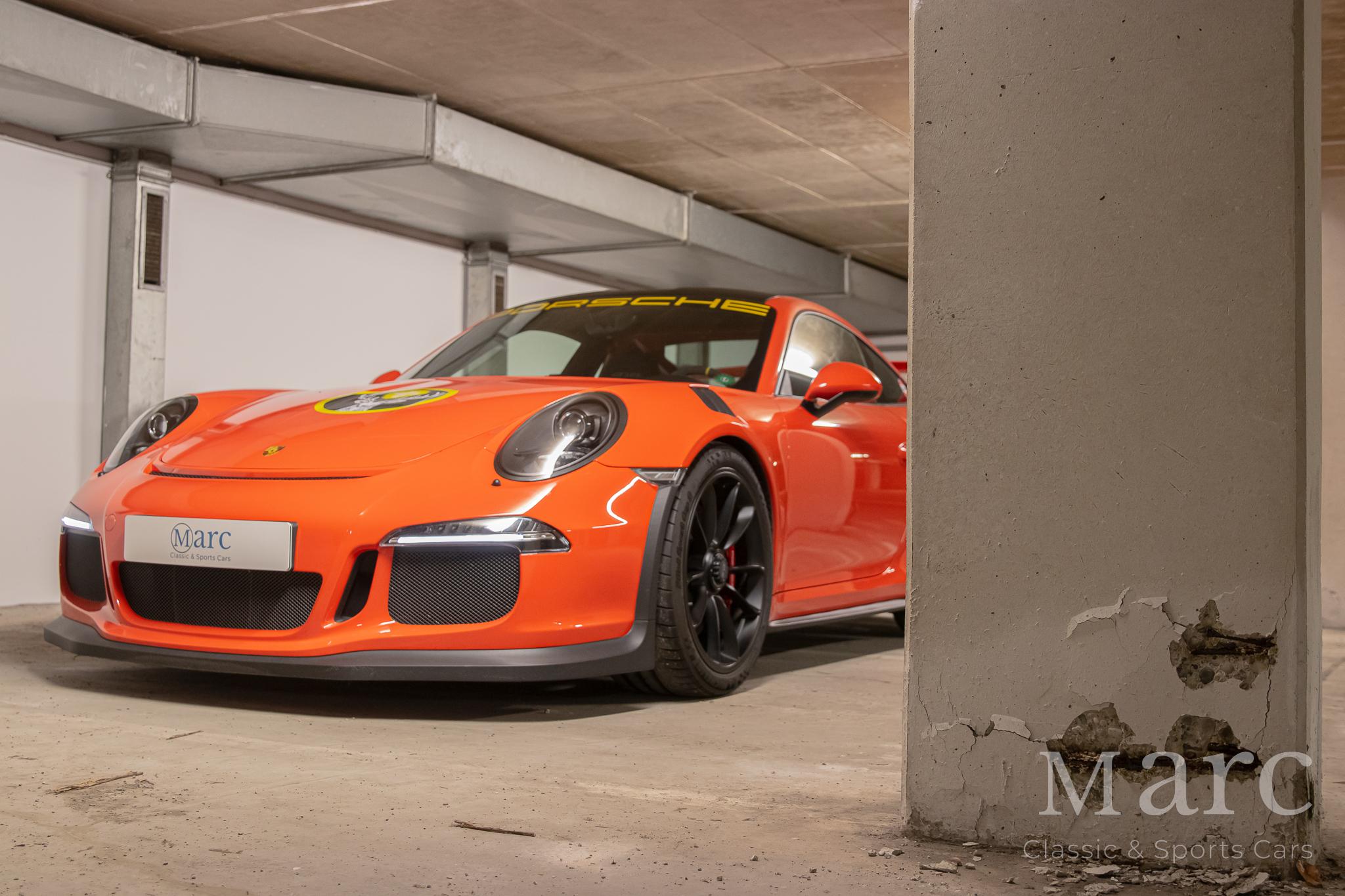 Porsche 991.1 GT3 RS Clubsport bei marc sportscars